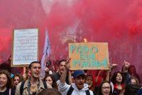 ה-1 במאי – מצעדים ו-283 עצורים בפאריס