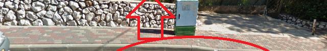 כנפי יונה בצפת (מפות גוגל)
