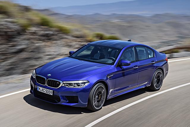 BMW M5 החדשה בישראל במחיר של  1,150,000שח