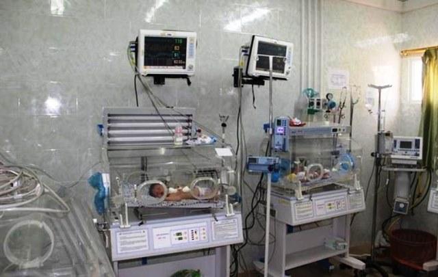 צילום: משרד הבריאות הפלסטני ברצועה