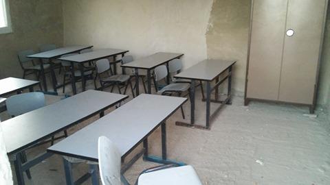 כיתות הלימוד שנהרסו