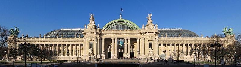 -PanoramiqueGrandPalais-- מוזיאון הגרנד פלה בפריז. יארח תערוכת חדשנות ישראלית - צילום- רוברט וויל, ויקימדיה