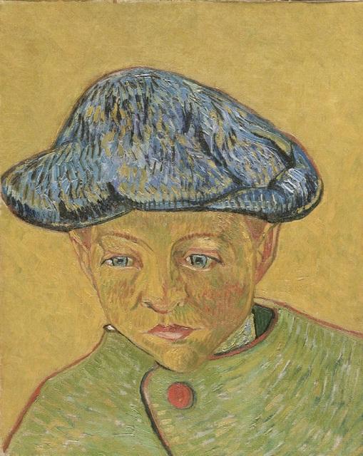 Vincent Willem van Gogh-Portrait of Camille Roulin -1888