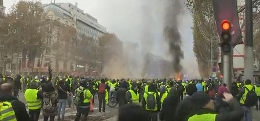 מרד הבורגנים – צרפת 2018
