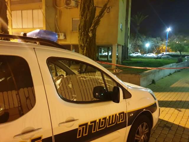 זירת הרצח (צילום: משטרת ישראל)