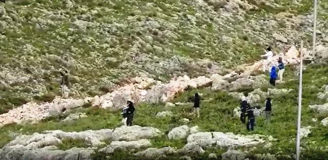 צילום התקיפה (מתוך סרטון )
