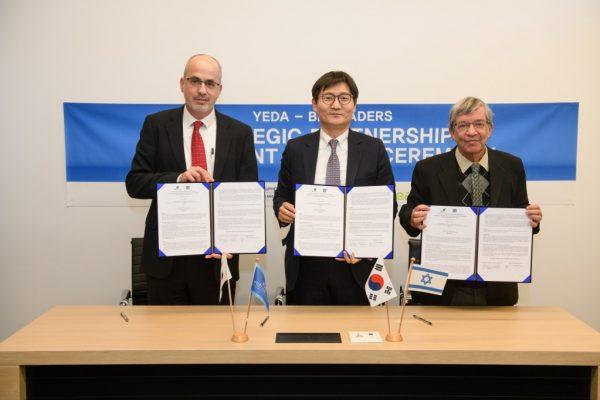 השקעה ראשונה בישראל של התאגיד הקוריאני BioLeaders בטיפול חדשני בסרטן אשר פותח במכון וייצמן