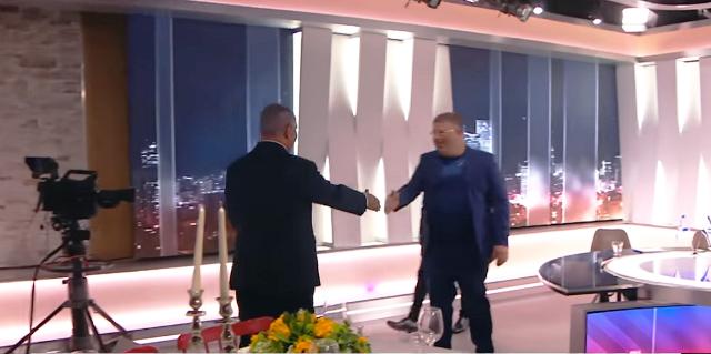 נתניהו ורהב (צילום מסך ערוץ 13)