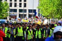 אחד במאי צהוב בצרפת, מהומות בכל אירופה