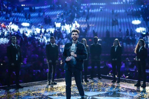 דונקן לורנס, הזוכה. באדיבות EBU איגוד השידור האירופאי