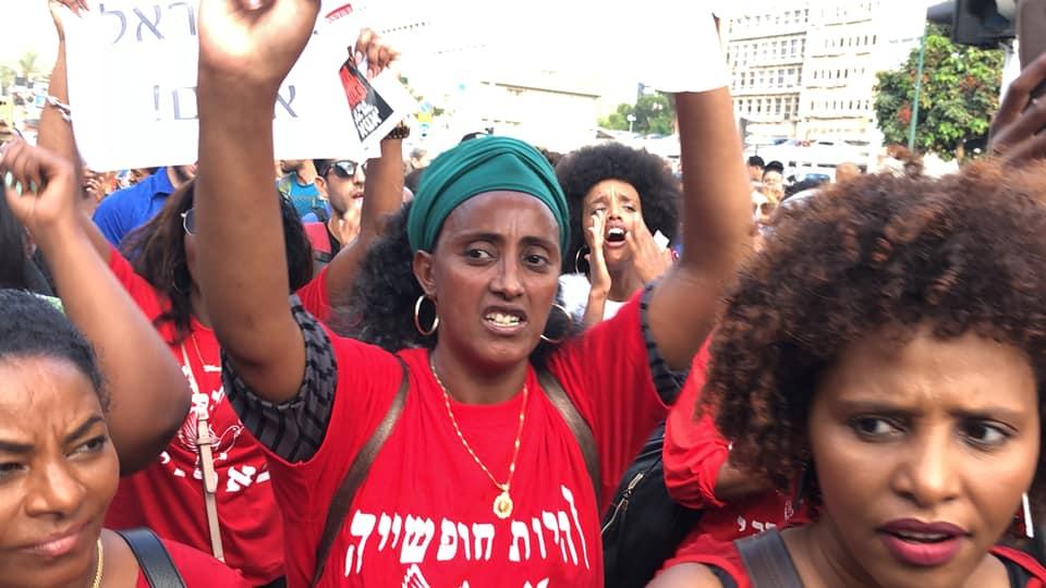 הפגנות יוצאי אתיופיה (צילום ארכיון: ציפי מנשה)