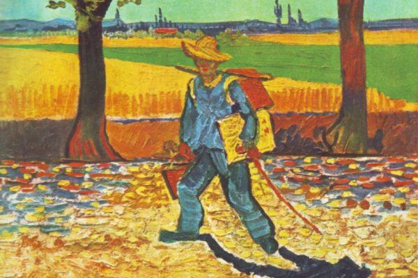 van gogh-the painter on his way