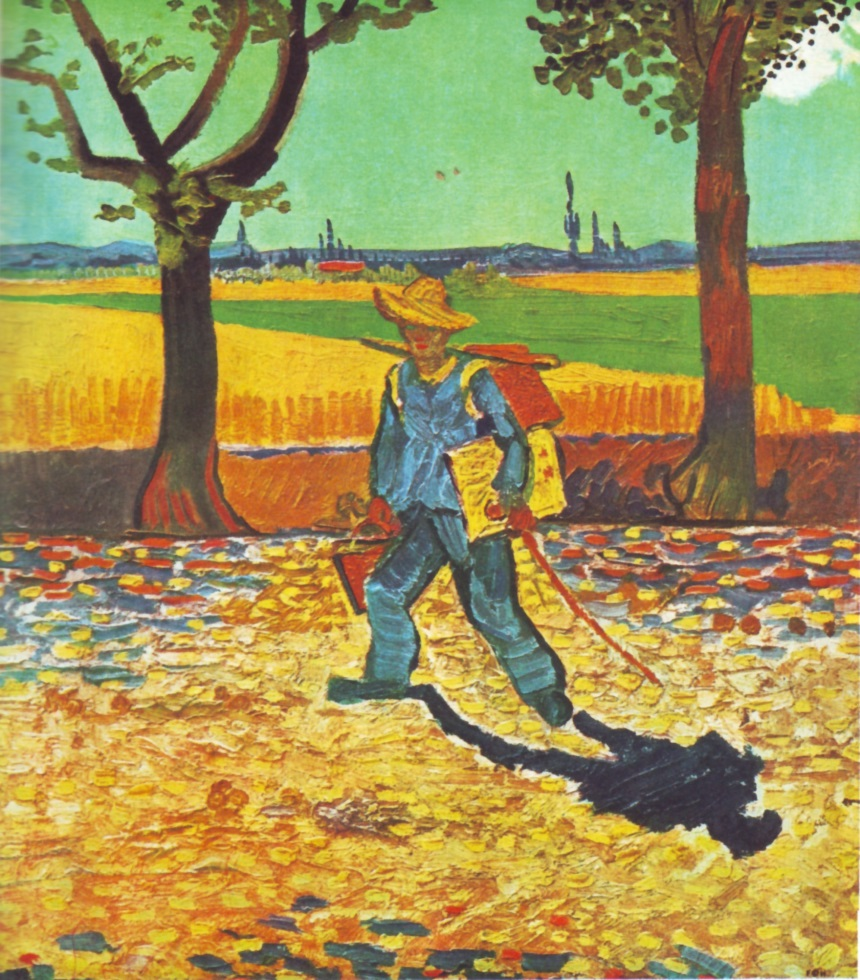 van gogh-the painter on his way