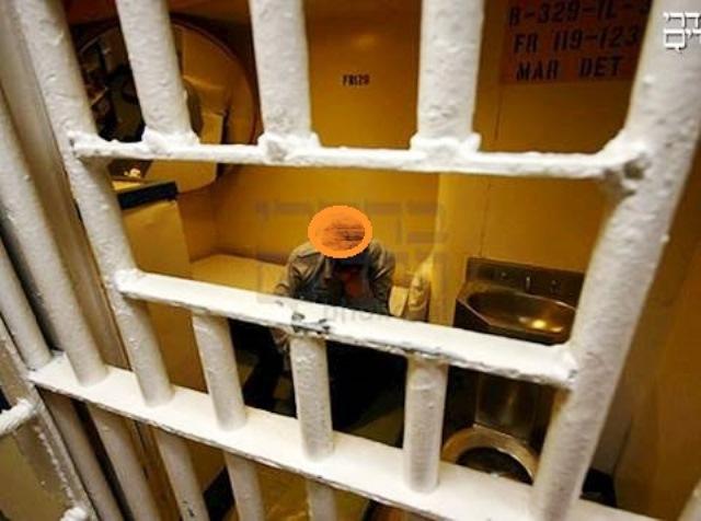 אילוסטרציה - חשוד תא מעצר (ארכיון)