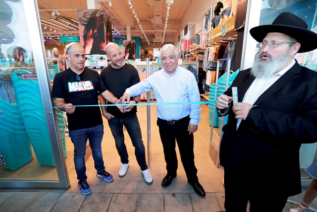 מימין לשמאל: יוסי ליפש, חיים חורש, גיא פאוזנר וניצן ישראלי  (צילום בן פרידמן)