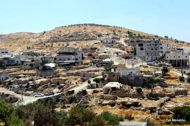 הישוב הפלסטיני אטוואני (צילום: ציפי מנשה)