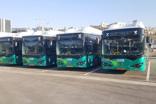 אי ירוק בתחבורה בירושלים