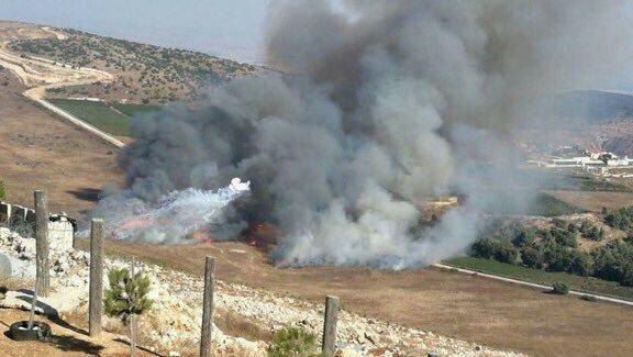 הירי בלבנון