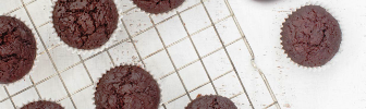 מתוקים בריאים: מאפינס שוקולד וסלק