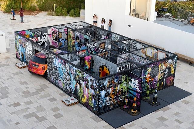 ה-STREET ART  הגדול בעולם נמצא בישראל