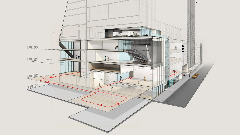 MOMA המוזיאון לאמנות מודרנית בניו יורק חוזר והוא גדול מתמיד