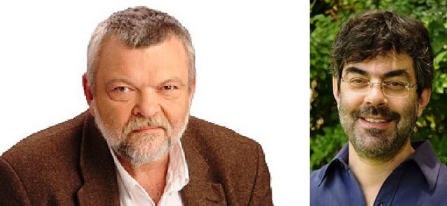 """מימין עו""""ד גלעד ברנע (צילום וויקיפדיה יח""""צ) ואילן גלאון (צילום: האתר הכנסת)"""