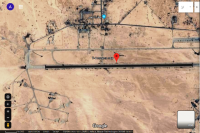 שדה התעןופה T-4 (צילום: Google DigitalGlobe)