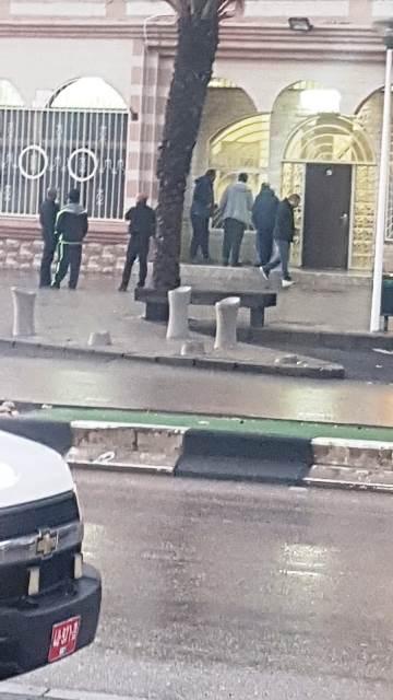 סכנין הבוקר - מעצר חלק מהחשודים (צילום: באדיבות הצלם)