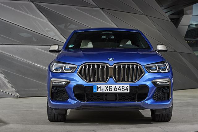 החזית האופיינית של BMW (צילום באדיבות היצרן)
