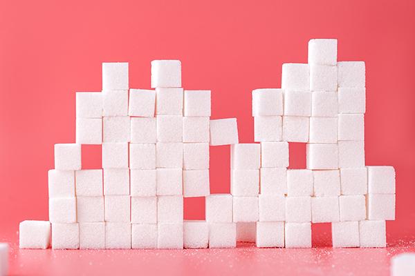 קוביות סוכר. צילום: Mae Mu on Unsplash