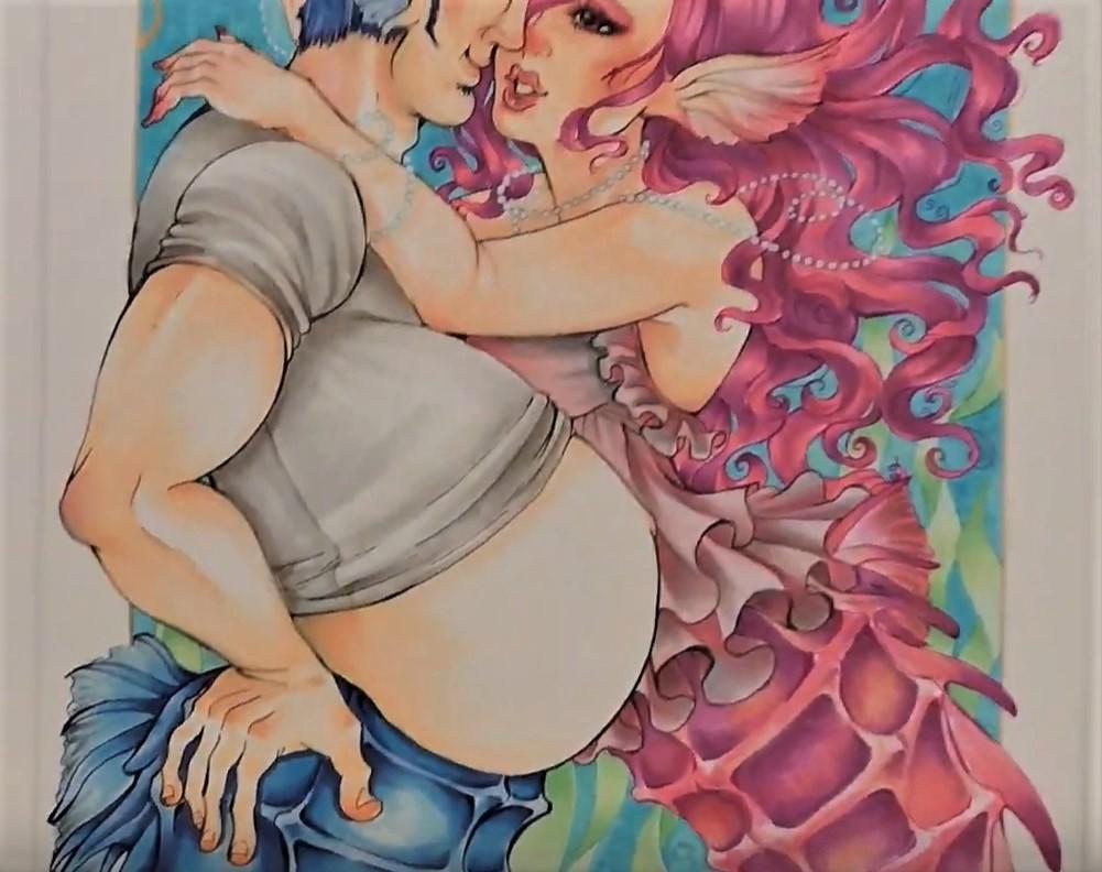 """אבא בהריון וגם מניק – החזון המגדרי בתערוכה """"היה היתה"""""""