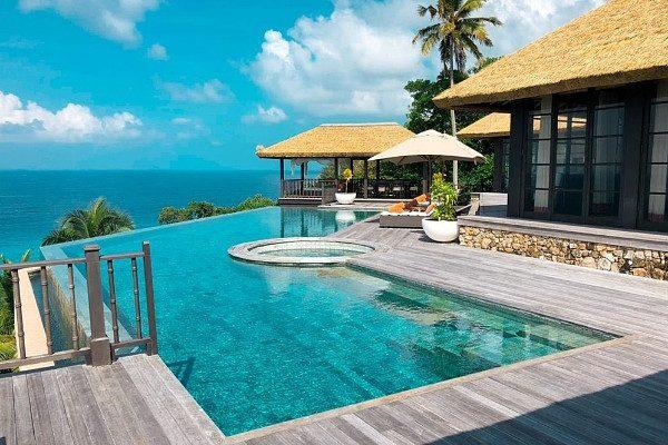 4,000 יורו ללילה ואתם יכולים לבלות באי העשירים Fregate private Island, שבאיי סיישל
