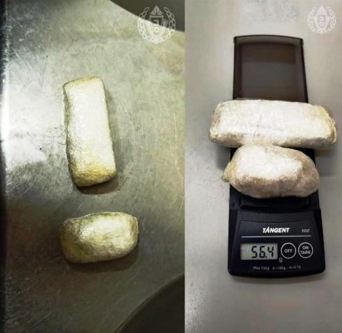 """הסמים שהוסלקו (צילום: דוברות שב""""ס)"""