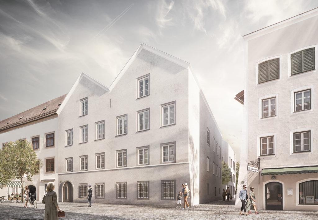 אוסטריה הופכת את בית הולדתו של היטלר לתחנת משטרה