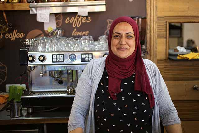 האנה בעלת מסעדת שנקליש בין רפא (צילום:דן בר דוב)