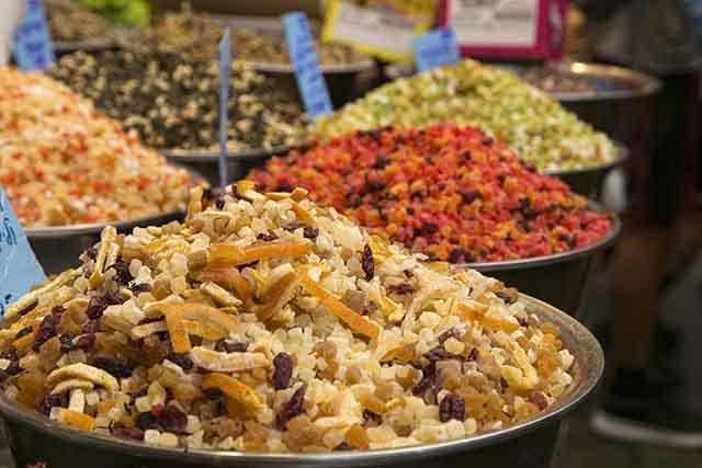 בשוק מחנה יהודה (צילום:דן בר-דוב)