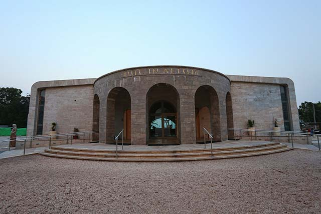 המרכז הרוחני duc in altum (צילום: דן בר דוב)