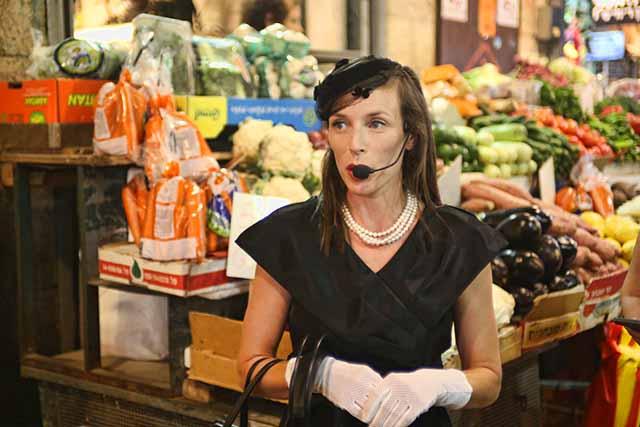 """ג'קי בשוק"""" של היוצרת : אורי לנקינסקי (צילום:דן בר דוב)"""