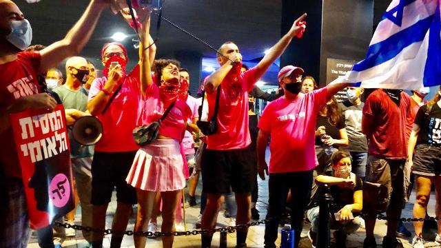 הפגנות המחאה השתלבו באירועים לזכרו של רבין