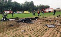 שני גברים נהרגו בהתרסקות מטוס קל