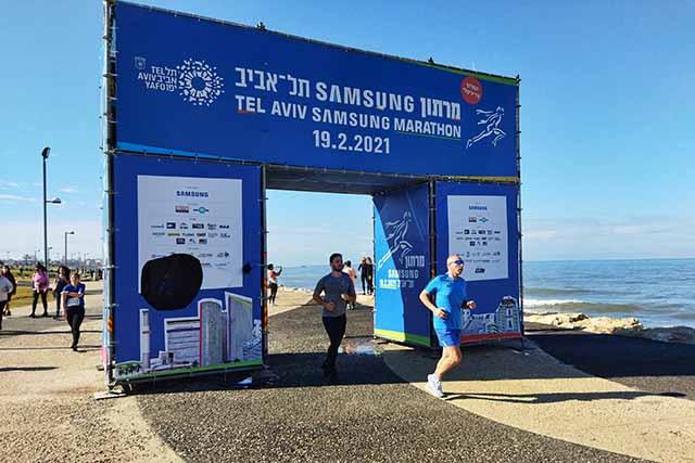 השבת השמשית הוציאה את רצי מרתון תל אביב לרחובות