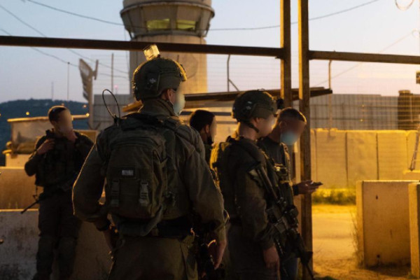 Soldiers stop attempted attack near Kfar Yabad idf