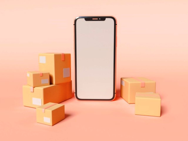 3d-illustration-smartphone-with-blank-white-screen-cardboard-boxes-e-commerce-shipping-service-concept_58466-14530