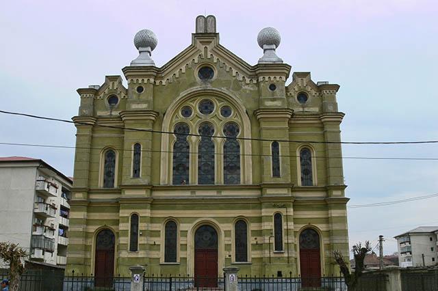 בית הכנסת של דאז' (צילום דן בר דוב)