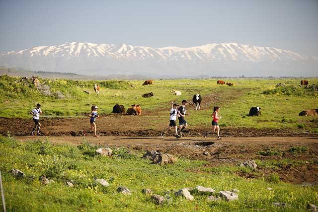 מרוץ הרי הגעש (צילום:תומר פדר)
