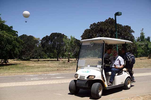 משחק ניווט חדש בפארק הירקון
