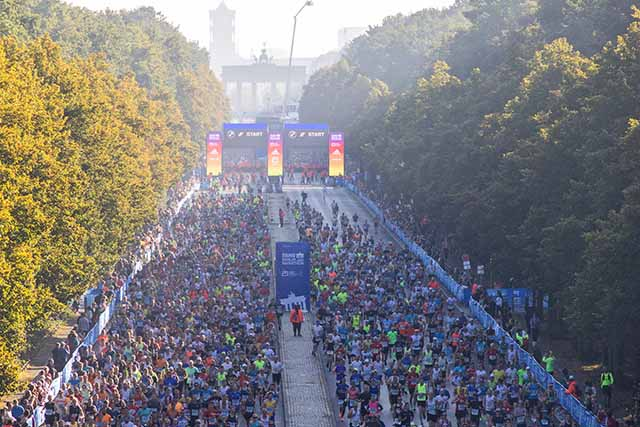 קרוב ל 25 אלף משתתפים (צילום SCC EVENTS/Norbert Wilhelmi )